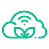 Farm gate connectivity icon