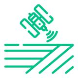satellite mapping icon